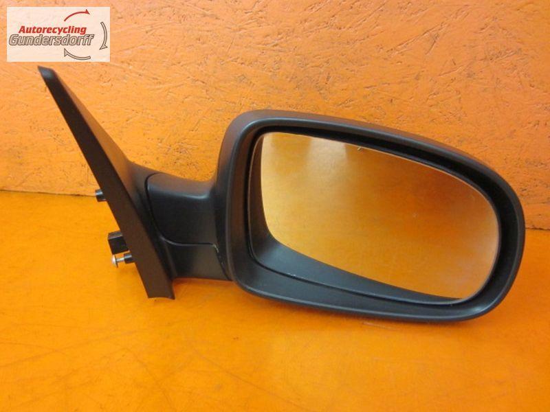 Außenspiegel rechts Spiegel Seitenspiegel Beifahrerseite elektrisch BLAU  Z168OPEL TIGRA TWINTOP 1.4