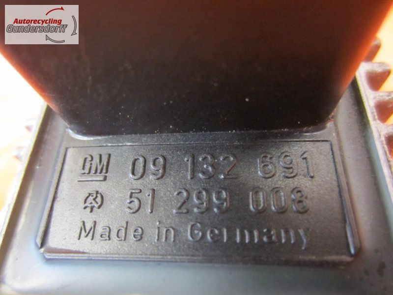 Vorglührelais 09132691   51299008OPEL ASTRA H CARAVAN 1.9 CDTI