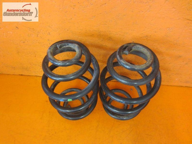 Feder hinten Federsatz Spiralfeder hinten 2Stück blau grünVW PASSAT VARIANT (3B6) 1.9 TDI
