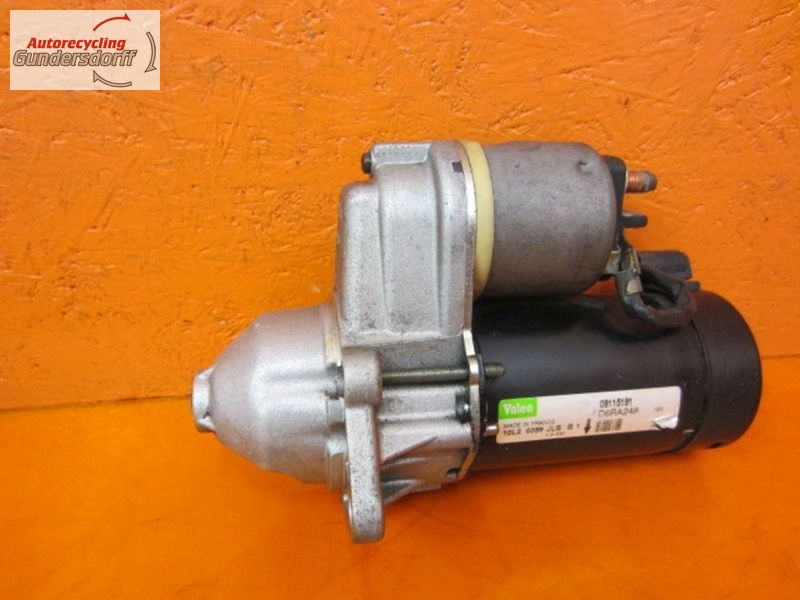 Anlasser 09130838   D6RA162OPEL CORSA C (F08, F68) 1.2