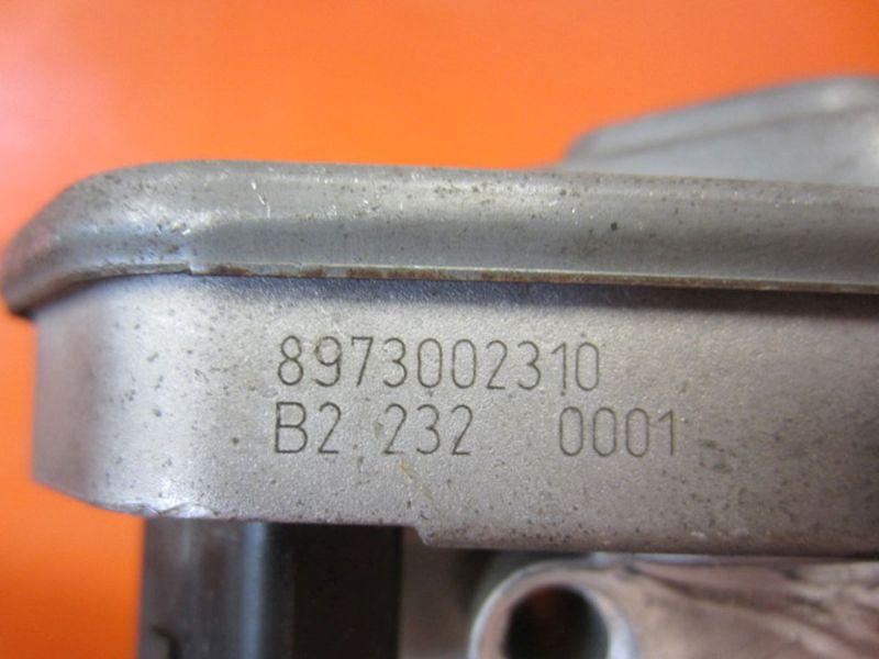 Drosselklappe 8973002310OPEL ASTRA G CC (F48_, F08_) 1.7 CDTI