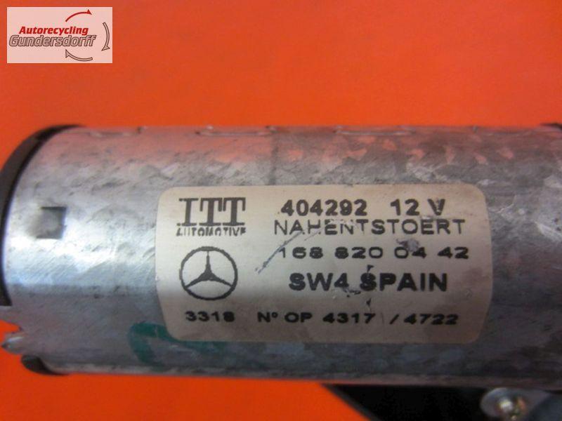 Wischermotor hinten 404292   1688200442     ScheibenwischermotorMERCEDES-BENZ A-KLASSE (W168) A 140