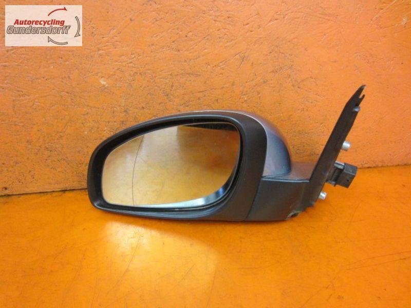 Außenspiegel elektrisch lackiert links 24436145  Spiegel  Lichtsilber  - Z163 -OPEL VECTRA C CARAVAN 1.9 CDTI