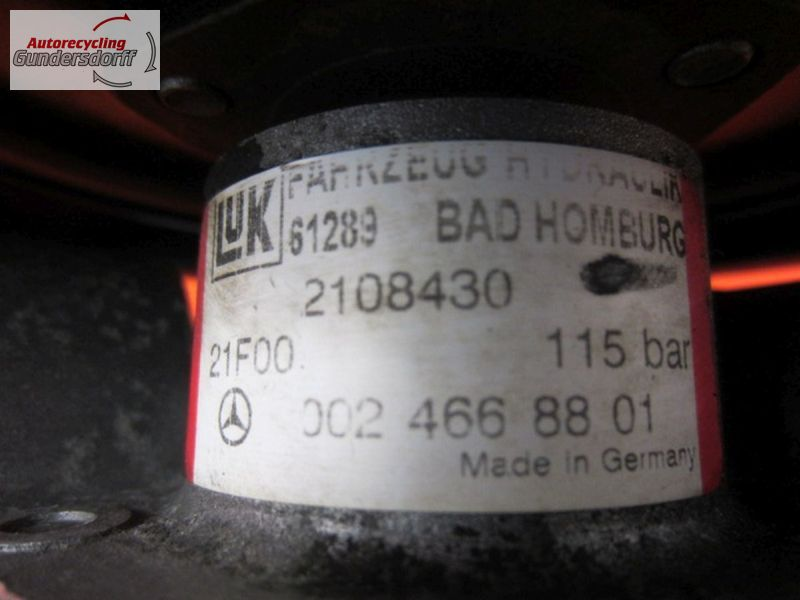 Servopumpe 2108430  115 barMERCEDES-BENZ E-KLASSE (W210) E 270 CDI
