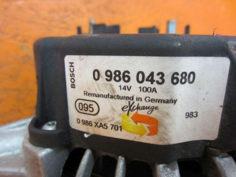 Lichtmaschine BOSCH 14V 100AOPEL OMEGA B (25_, 26_, 27_) 2.0