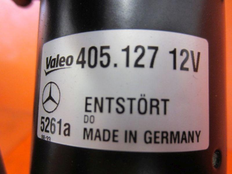Wischermotor vorne Gestänge 405.127MERCEDES-BENZ A-KLASSE (W169) A 180 CDI