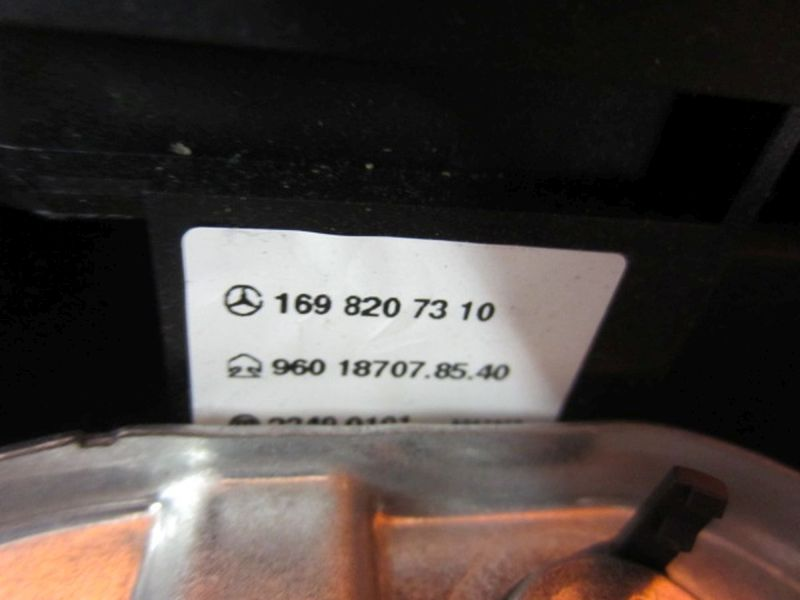 Lenkrad Multifunktion 1698207310MERCEDES-BENZ A-KLASSE (W169) A 180 CDI