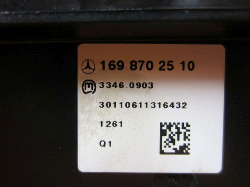 Schalter Sitzheizung PDCMERCEDES-BENZ A-KLASSE (W169) A 180 CDI